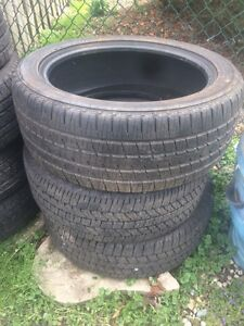 4 random like new tires 20 and 18s