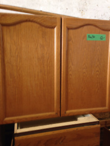 Medium Brown Cabinets