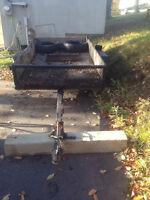 4x8 tilt trailer