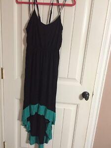 Forever 21 + hi/low maxi dress