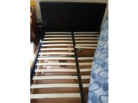 Bed and tempa mattress for sale