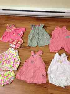 Lot Clothes for Girls 3 months and 3-6 months 3 mois & 3-6 mois Gatineau Ottawa / Gatineau Area image 3