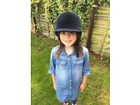 Child horse riding hat