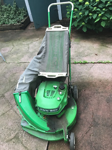 Lawn Boy Rear Bagger Lawn Mower with Magnesium Deck