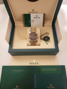 Rolex DATEJUST 41MM Slate RO Reference 126333 2018 model