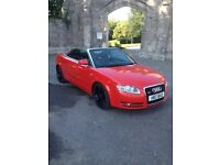 Audi A4 convertible s line
