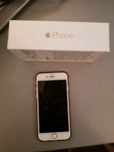 IPhone 6, 64gb gold unlocked