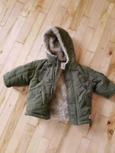 12 month kids winter coat