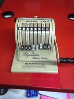 Old paymaster cheque writer
