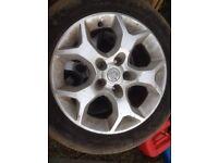 Astra sxi alloy wheels 4