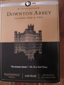 Downton Abbey series 1&2 Limited Edition and original UK edition
