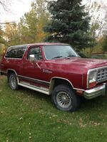 1984 Dodge Ramcharger Prospector **PRICE REDUCED**
