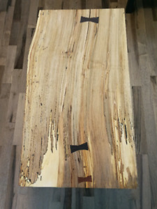 Spalted maple coffee tables