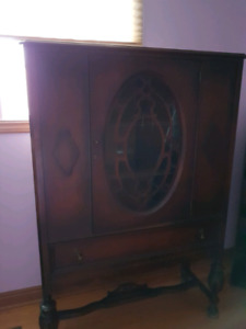 Vintage Antique Hutch