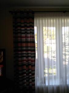Panneaux de rideau