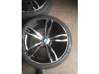 Alloy wheel bmw 20 inch