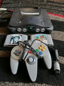 Nintendo 64 Make me an offer.