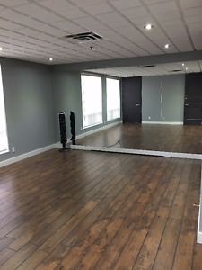 Great Dance/Yoga/Fitness Studio space is available
