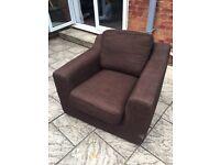 Free single armchair sofa