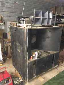 Northern Electric and other tube Amplifiers Hammond Altec Ampex