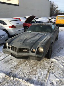 1981 Camaro Z28 T-Top 4-speed - Running/driving project!