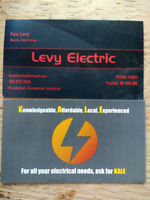 Levy Electric - Master Electrician