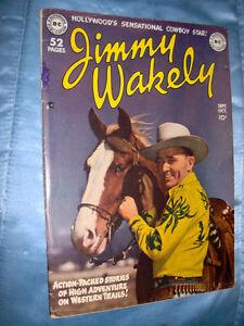 Vintage Western Comic Book, Jimmy Wakley #1  1949