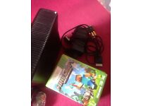 Xbox 360 slim pad wires an games