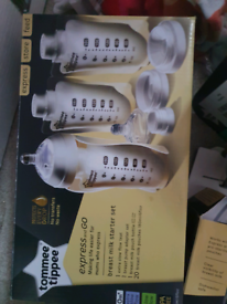 Tommee tippee NEW express and go starter set