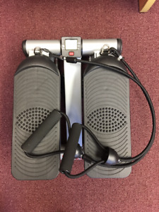 Mini Stepper with Exercise Bands