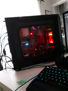 Gaming pc setup