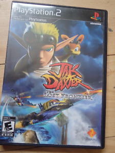 PS2 Playstation 2 Jak & Daxter The Lost Frontier Video Game