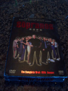 The Sopranos The Complete First to Five Seasons Box Set