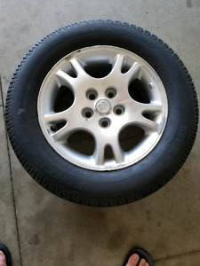 4 all season tires with rims