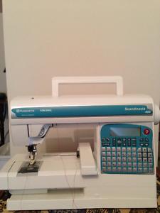 Husqvana Embroidery Machine