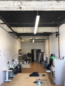 Sunny studio/office space to share - $425 - 550 sq.ft.