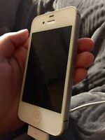 iPhone 4s 8gb Bell white