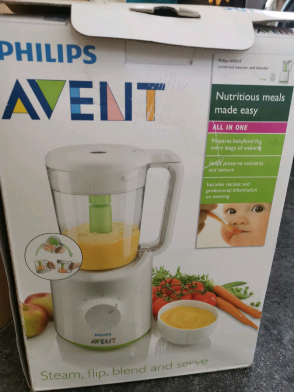 Philips Avent Babyfood Steamer And Blender In Bradford West Yorkshire Gumtree