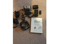 Sony Handycam DCR-4E with macro and wide angle Pro lens