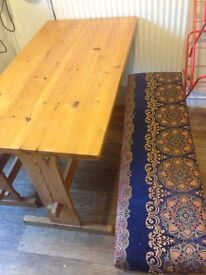 Breakfast Table with 2 Benches