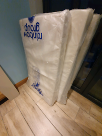 NEW Cot bed Mattress (4 Available) inc waterproof covers