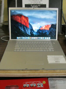 "APPLE 17"" MacBook Pro (A1229) For Sale At Nearly New"