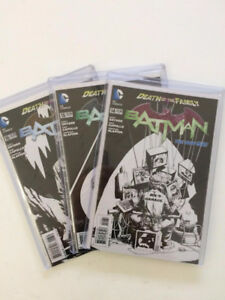 Batman Comic Books  - Variant B/W cover