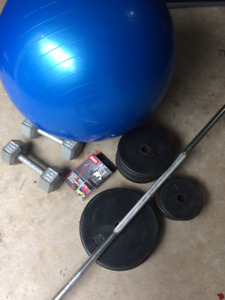 MISC WEIGHTS / EXERCISE EQUIP