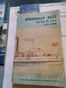"""Book """" Steamboat Days On The St.John"""" 1816- 1946"""