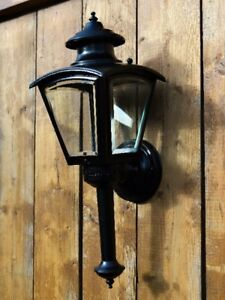 TWO CARRIAGE PORCH LIGHTS