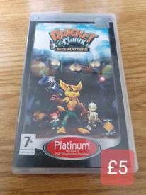 PlayStation PSP GAMES