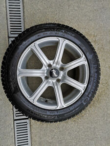 snow tires on Alloy wheels