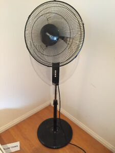 Stand Fan, 3 Speed with Head movments