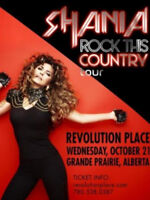 2 SHANIA TWAIN tickets for sale